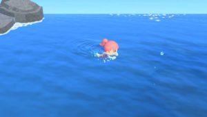 海を泳ぐ(あつ森)