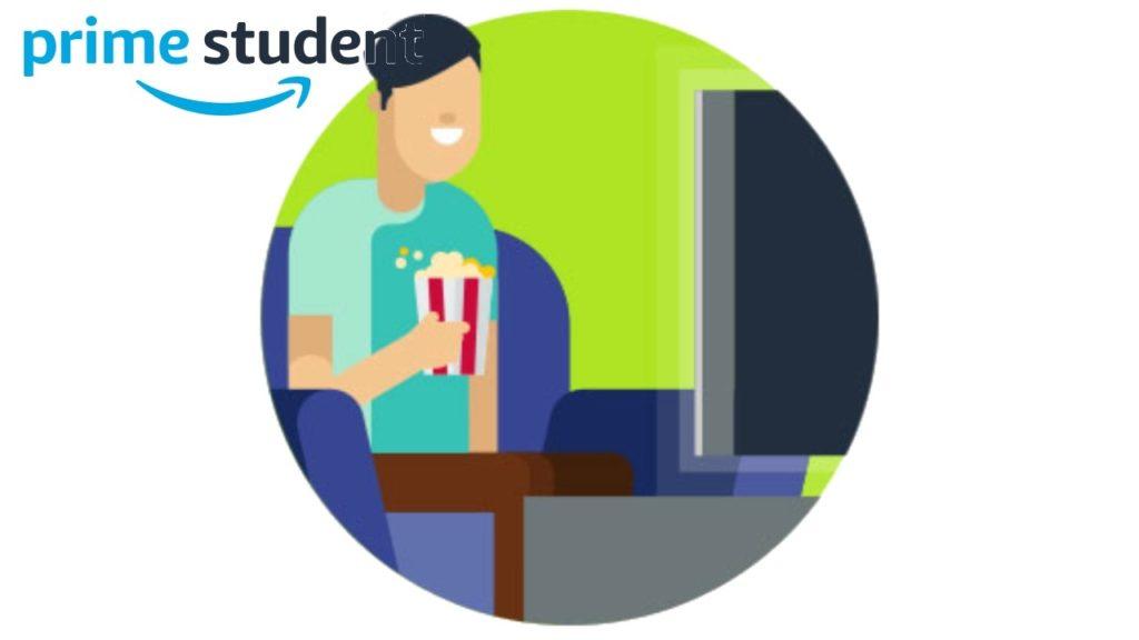 Prime Studentの通常特典3:Prime Video
