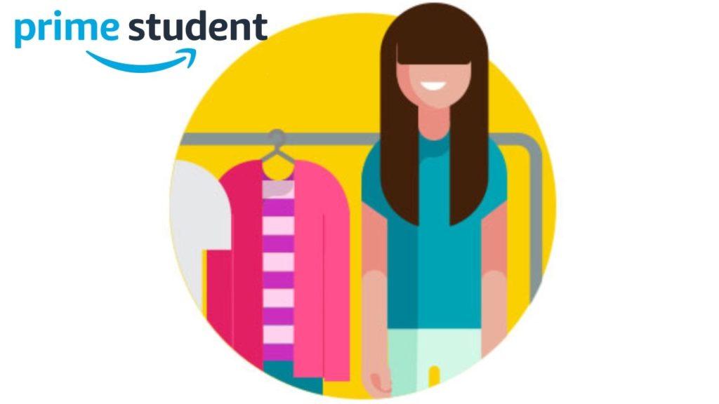 Prime Studentの通常特典8:Prime Wardrobe
