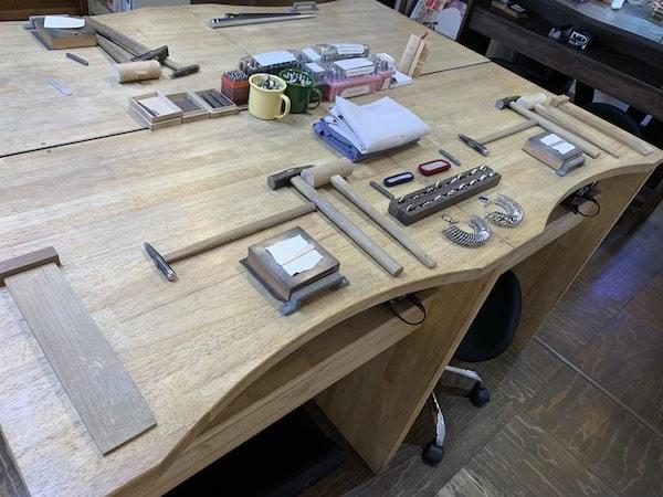 ワークスタジオ瑠花の作業台