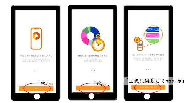 家計簿アプリ「マネーフォワード ME」の登録方法1